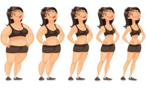 The journey of losing weight.