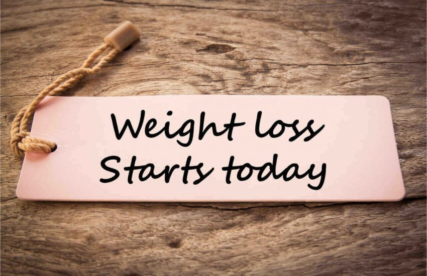 Start losing weight and be healthy.